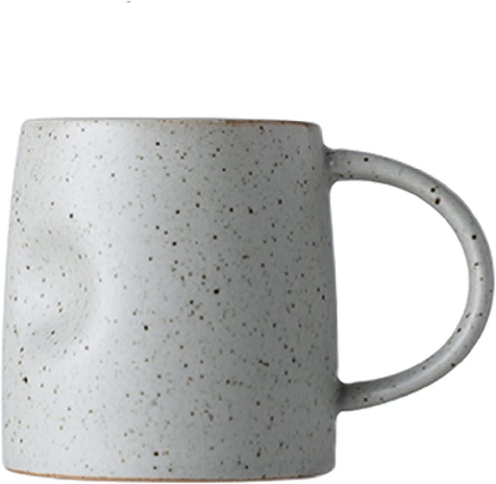 Ranking TOP16 Year-end annual account Coffee Cups Creative Pot-bellied Mug Handle Semi-circular Arc Wa