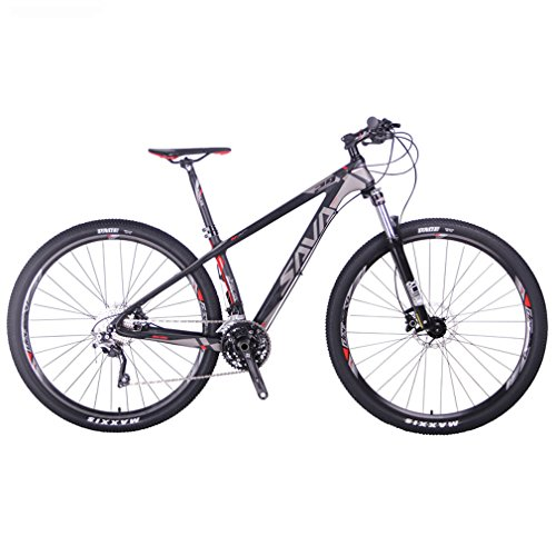 Sava DECK300 Fibra di Carbonio Mountain Bike...