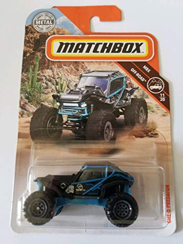 Matchbox 2019 MBX Off-Road GHE-O Predator