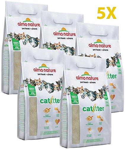 almo nature lettiera per Gatti 5 pz 2,27 kg