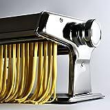 Nudelmaschine aus Edelstahl Pastamaker Pastamaschine; Die Nudel Maschine für frische Pasta - 3