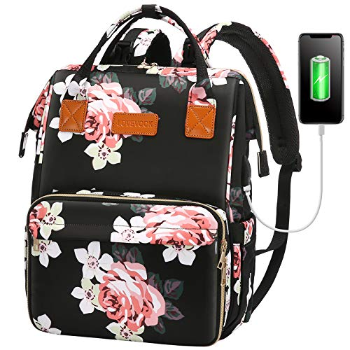 Lunch Backpack Insulated Cooler Backpack Lunch Box Laptop Backpack for Women Men
