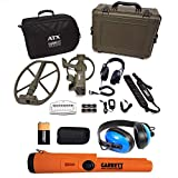 Garrett ATX Deep Seeker Metal Detector w/ Pro Pointer at & Waterproof Headphones