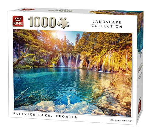 King 5651 Plitvice See Puzzle (1000 Teile)