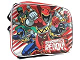 Saban's Power Ranger Dino Charge READY! Canvas Insulated RED Lunch Bag
