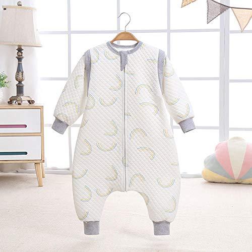 Exquisito saco de dormir para bebé manta usable bolsa de cultivo para bebé de 2.5 tog envoltura envolvente para bebés de 3 a 4 años