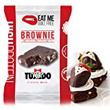 DELICIOUS FLAVORS: Tuxedo is a low carb and high protein healthy snack that encompasses chocolate, and delectable and decadent white chocolate chips that make a very formal looking flavor POWERED WITH PROTEIN: Each Tuxedo brownie has 23 grams of prot...