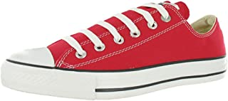CONVERSE ALL STAR Chuck Taylor OX Shoes Size 6.5 Red/White