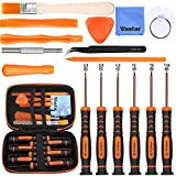 Vastar 17Pcs Triwing Screwdriver Set for Nintendo - Full Professional Screwdriver Bit Repair Tool Kit with S2 Steel for Nintendo New 3DS/2DS XL/NES/SNES Classic (2017)/Nintendo NDS/NDS