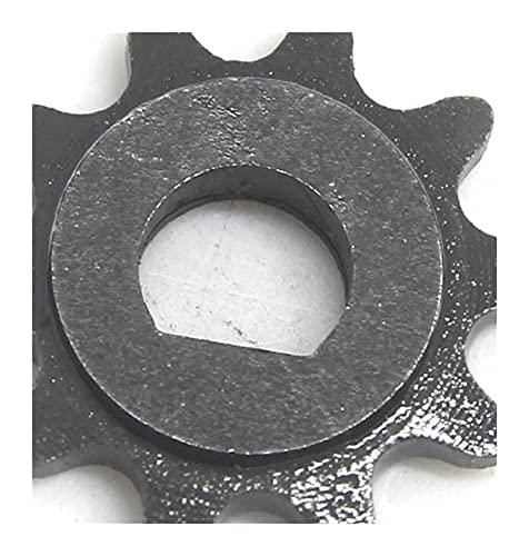 JIEYANG équipement 10 11 12 Dientes 10T 11T 11T 12T 25H D Tipo de 8 mm 10 mm Ajuste para la afeita de Afeitar para Ajuste de X-Treme para Izip E Scooter Motor Sprocket My1020 (Color : 10T 8MM)