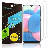 Didisky Pellicola Protettiva in Vetro Temperato per Samsung Galaxy A30s, [2 Pezzi] Protezione Schermo [Tocco Morbido ] [Facile da Pulire] [Facile da installare] Trasparente