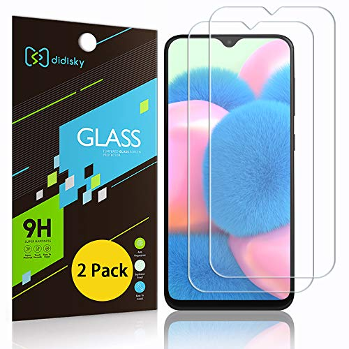 Didisky Pellicola Protettiva in Vetro Temperato per Samsung Galaxy A30s   A40s, [2 Pezzi] Protezione Schermo [Tocco Morbido ] [Facile da Pulire] [Facile da installare] Trasparente