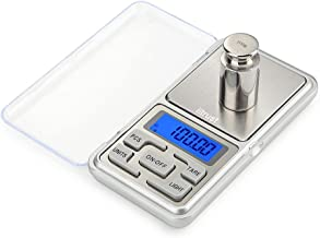 iitrust Balance de Précision Cuisine, Balance de Cuisine Electronique, Balance de Poche avec Écran LCD, 500g / 0.01g Mini ...