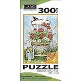 Jigsaw Puzzle 300 Pieces 14.5'X20.5'-Geranium Chair