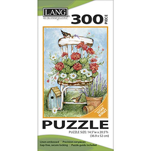 Jigsaw Puzzle 300 Pieces 14.5'X20.5'-Geranium Chair