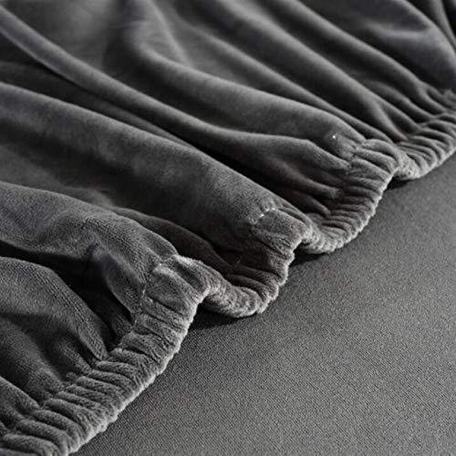 Strapazierfähiger und leicht zu reinigender Sofabezug aus Samt, Plüsch, L-Form, Sofabezug für Wohnzimmer, elastische Möbel, Couch-Schonbezug, Chaiselongue, Ecksofabezug, Stretch