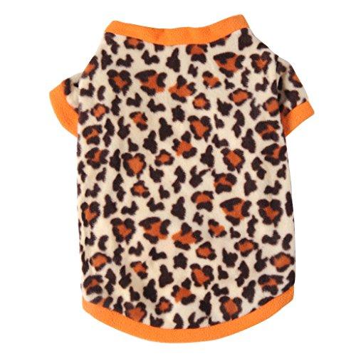 JJ Store - Maglione in pile caldo con stampa leopardata
