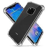 HUOCAI Compatible avec pour HuaweiMate20Pro Coque Transparente Antichoc Coussin d'air Etui...