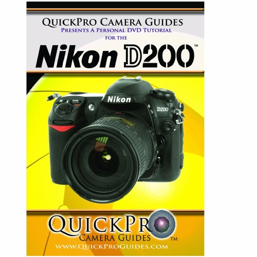 Nikon D200 Instructional DVD by QuickPro Camera Guides