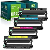 GREENBOX Compatible Drum Unit Replacement for Brother DR221CL DR221 DR-221 for HL-3140CW HL-3170CDW MFC-9130CW MFC-9330CDW MFC-9340CDW Printer 4 Pack (Black Cyan Magenta Yellow)