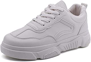Women's sports shoes comfortable small white shoes Korean single shoes thick bottom
