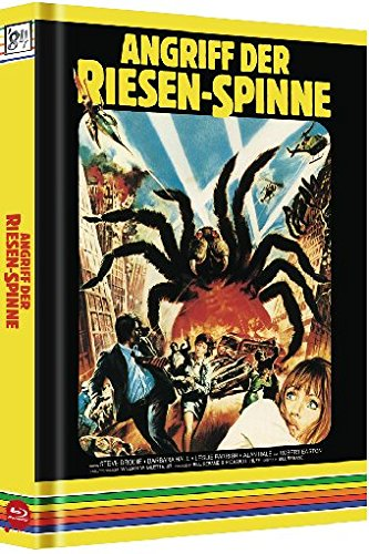 Angriff der Riesenspinne - Uncut/Mediabook (+ DVD) (+ CD-Soundtrack) (+ Bonus-Disc) [Blu-ray] [Limited Collector's Edition]