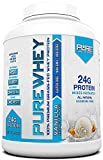 Pure Label Nutrition Whey Protein Concentrate, 100% Natural Grass Fed Vanilla Protein Powder, Gluten-Free, Low Carbs with No Added Sugar, 5 lb