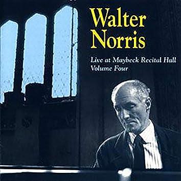 Live At Maybeck Recital Hall, Vol. 4