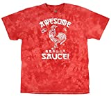 Sriracha Mens Hot Chili Awesome Sauce Label Acid Wash T-Shirt (XXX-Large)