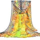 PB-SOAR XXL Damen Paisley Sarong Pareo Strandtuch Wickelrock Wickeltuch Schal Halstuch, weich und leicht (Farbe 3)