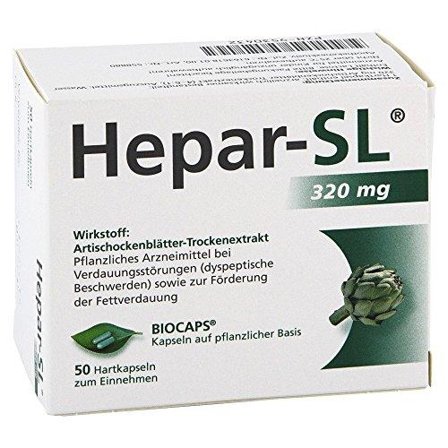 Hepar-SL 320 mg, 50 St. Hartkapseln