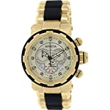Invicta Reserve Chronograph Champagne Dial Two-tone Mens Watch 80300