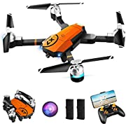ORRENTE Drone with Camera for Adults, WiFi 1080P HD Camera FPV Live Video Drone, RC Quadcopter for Beginner with Gravity Sensor, Trajectory Flight, altitude hold, One Key Take Off/Landing