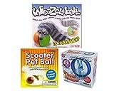 Weazel Ball, Scooter Pet Ball and Wheel Runner