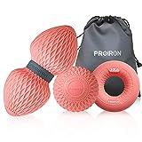 PROIRON Balle de Massage   Boule Lacrosse, Cacahuète Balle de Massage, Hand Grip Anneaux   Idéal pour Fasciite Plantaire, Relaxation Douleur Muscle, Déclenchement Point (3 pcs)