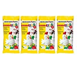 Eberhard Faber EFA Plast Kids 570102 - Pasta de modelar (1 kg), color blanco (4)