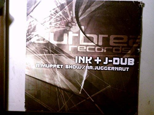 INK + J-DUB MUPPET SHOW JUGGERNAUT vinyl record album LP