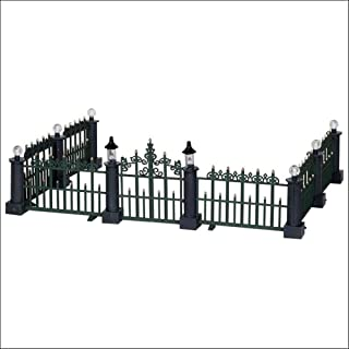 Lemax Village Collection Classic Victorian Fence Set of 7 # 24534