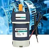YUQIYU Reducción de velocidades del motor, de alta torsión velocidades ajustables del engranaje del metal imán permanente DC motorreductor de 24V 60W (Relación de Reducción de 3 700 rpm)