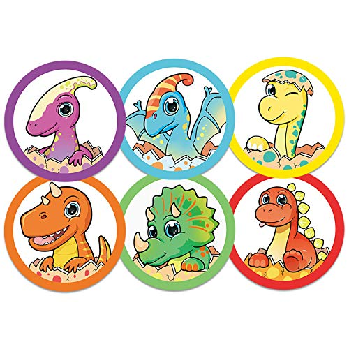 90 Pack Toilet Targets for Boys, Potty Training Flushable Dinosaur Target, 2 x 2 Inch Pee Targets for Boys, 100% Biodegradable and Sewage Safe