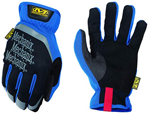 Mechanix Wear MFF-03-009 Guantes, Azul, Medium