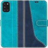 Mulbess Handyhülle für Samsung Galaxy A31 Hülle Leder,