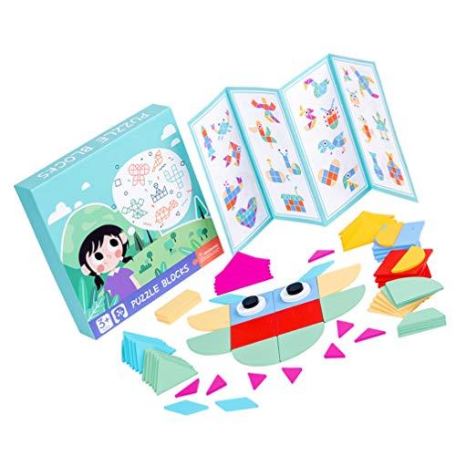 TOYANDONA Organizador de formas de madeira Montessori para classificação de cores pré-escolar, formas geométricas de brinquedo, quebra-cabeças, blocos de madeira, brinquedos de cálculo de abacus, brinquedos de cérebro