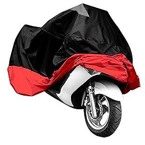 Tiamu Housse de moto pour VTT Taille XXXL rouge noir modèle sport ex