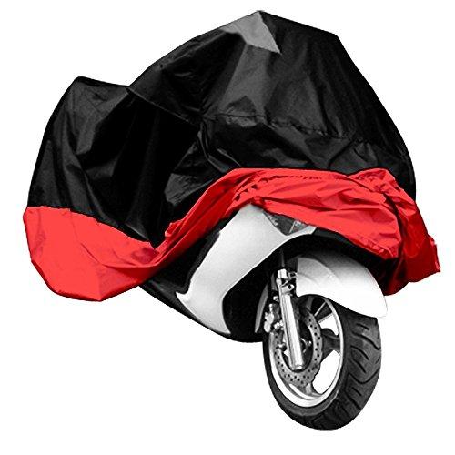 HOUSSE BACHE MOTO Couvre-Moto VTT grande Taille XXXL rouge noir protection sportive modele...