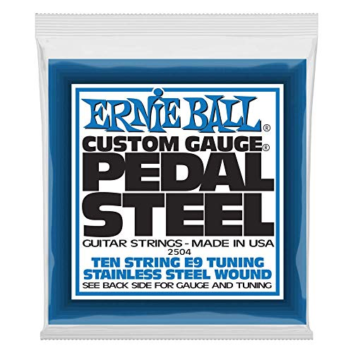 Ernie Ball Nickel E9 Pedal Steel 10-String