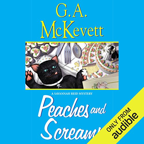 Peaches and Screams audiobook cover art