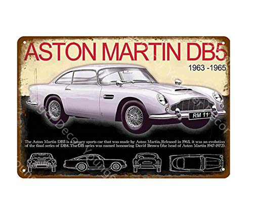 Cartel de metal para pintura de hierro, de Marlboro de carreras, para coche, vintage, pub, tienda, garaje, decoración del hogar, 20 x 30 cm