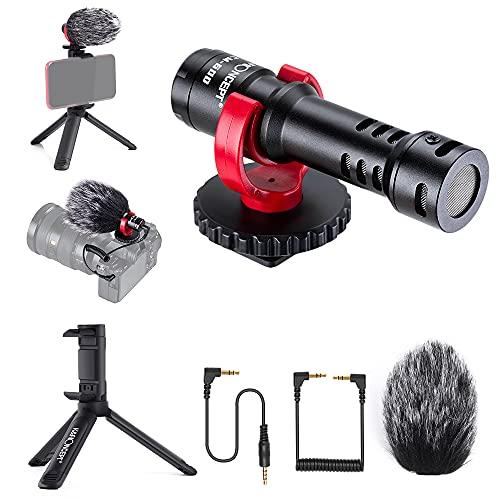 K&F Concept CM600 Microfono Direzionale,Microfono...