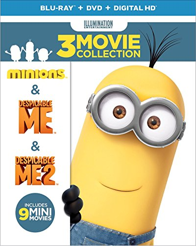 Despicable Me 3-Movie Collection (Blu-ray + DVD + Digital HD) [Blu-ray]